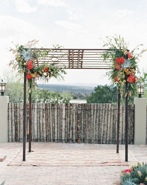 59 Wedding Arches That Will Instantly Upgrade Your Ceremony Wedding Arch Wedding Arches Outdoors Wedding Archway