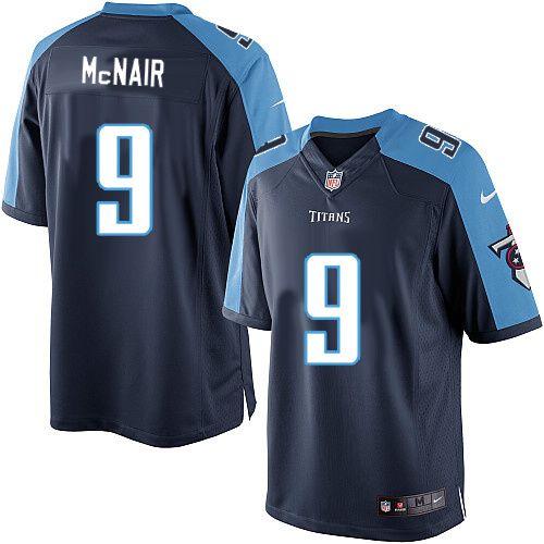 6f464ffb7 Nike Limited Steve McNair Navy Blue Men s Jersey - Tennessee Titans  9 NFL  Alternate