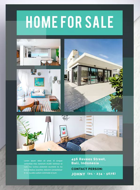 Gowong Professional Real Estate Flyer Template PSD Download Flyer