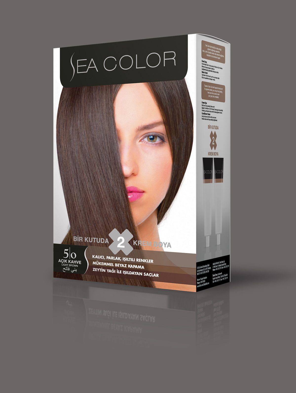 Sea Color Sac Boyasi 5 0 Acik Kahve 2020 Goruntuler Ile Sac