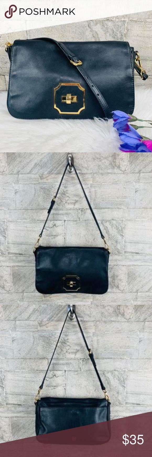 Monet Black Leather Shoulder Handbag Purse Leather Shoulder Handbags Shoulder Handbags Black Leather [ 1740 x 580 Pixel ]