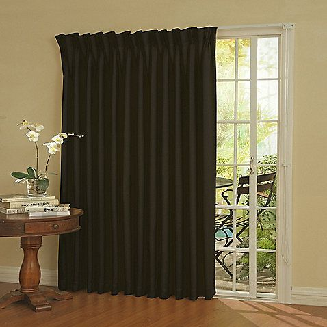Patio Door Curtain Panel.Insola Patio Door Thermal Blackout Curtain Panel In 2019
