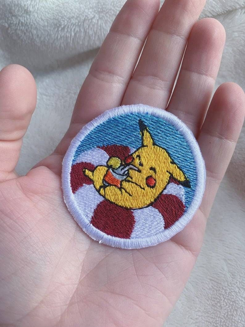 Pokemon Patches made by CatAndCrow -