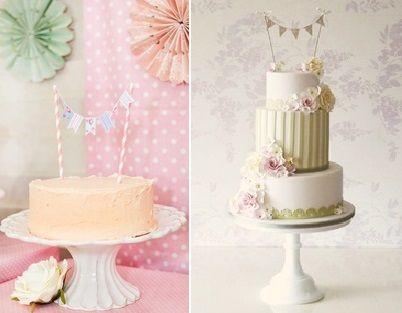Bunting Cake Topper Adelaide