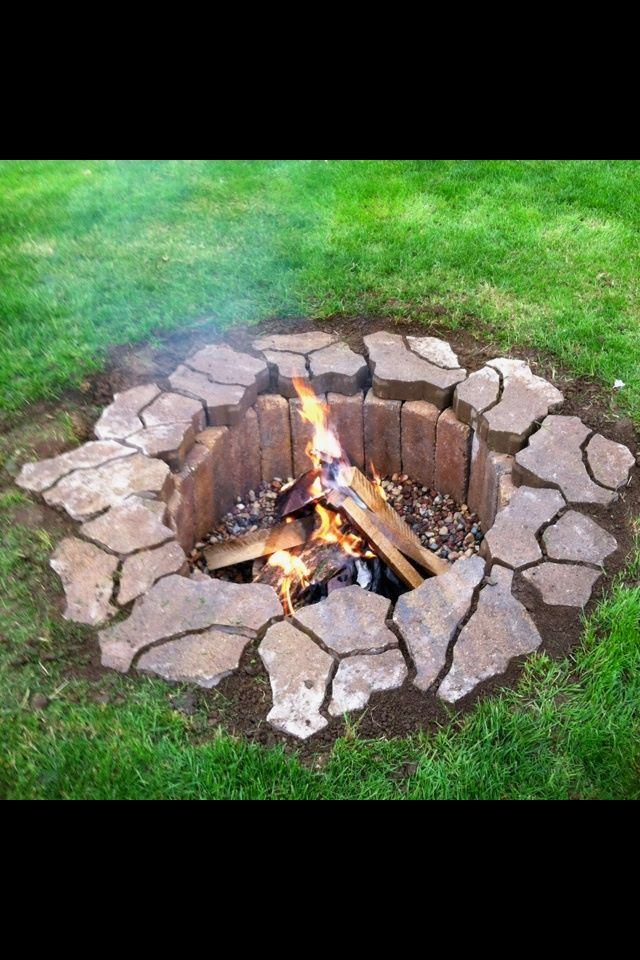 My campfire pit will look like this one day. I think it ... - photo#24