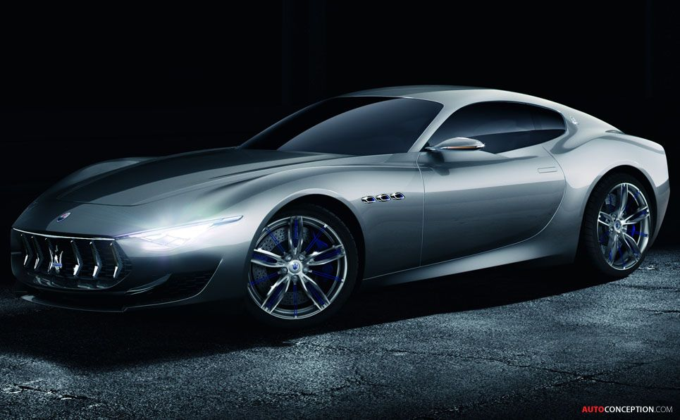 Maserati Alfieri GT Concept Wheels Pinterest