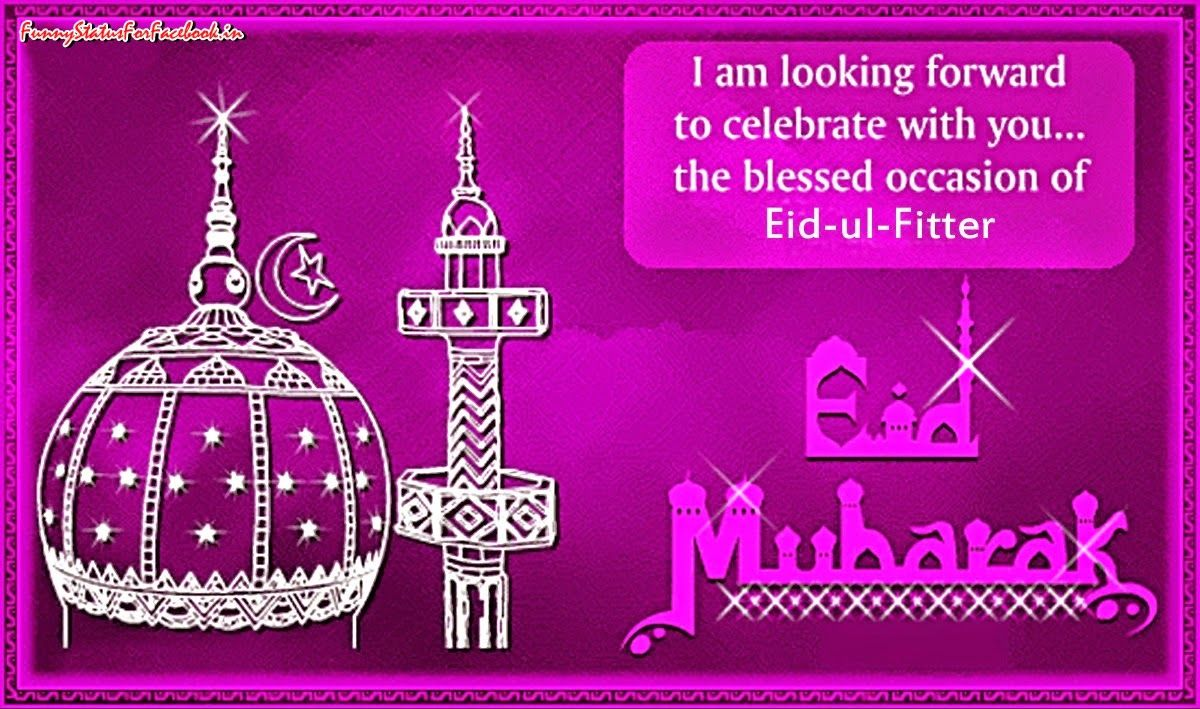 I am looking forward to celebrate with you the blessed occasion happy eid mubarak wishes quotes with greeting cards pictures kristyandbryce Image collections