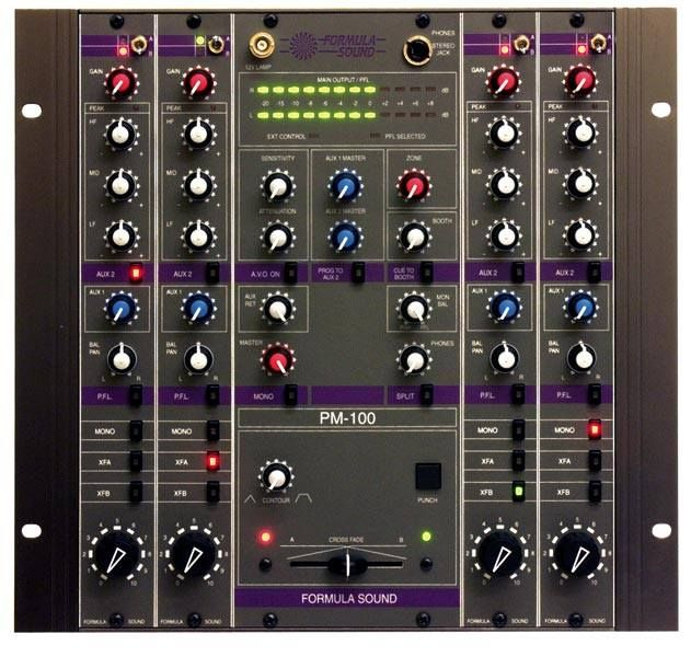 formula sound pm 100 analogue rotary mixer dj booth in 2019 dj equipment dj gear mixers. Black Bedroom Furniture Sets. Home Design Ideas