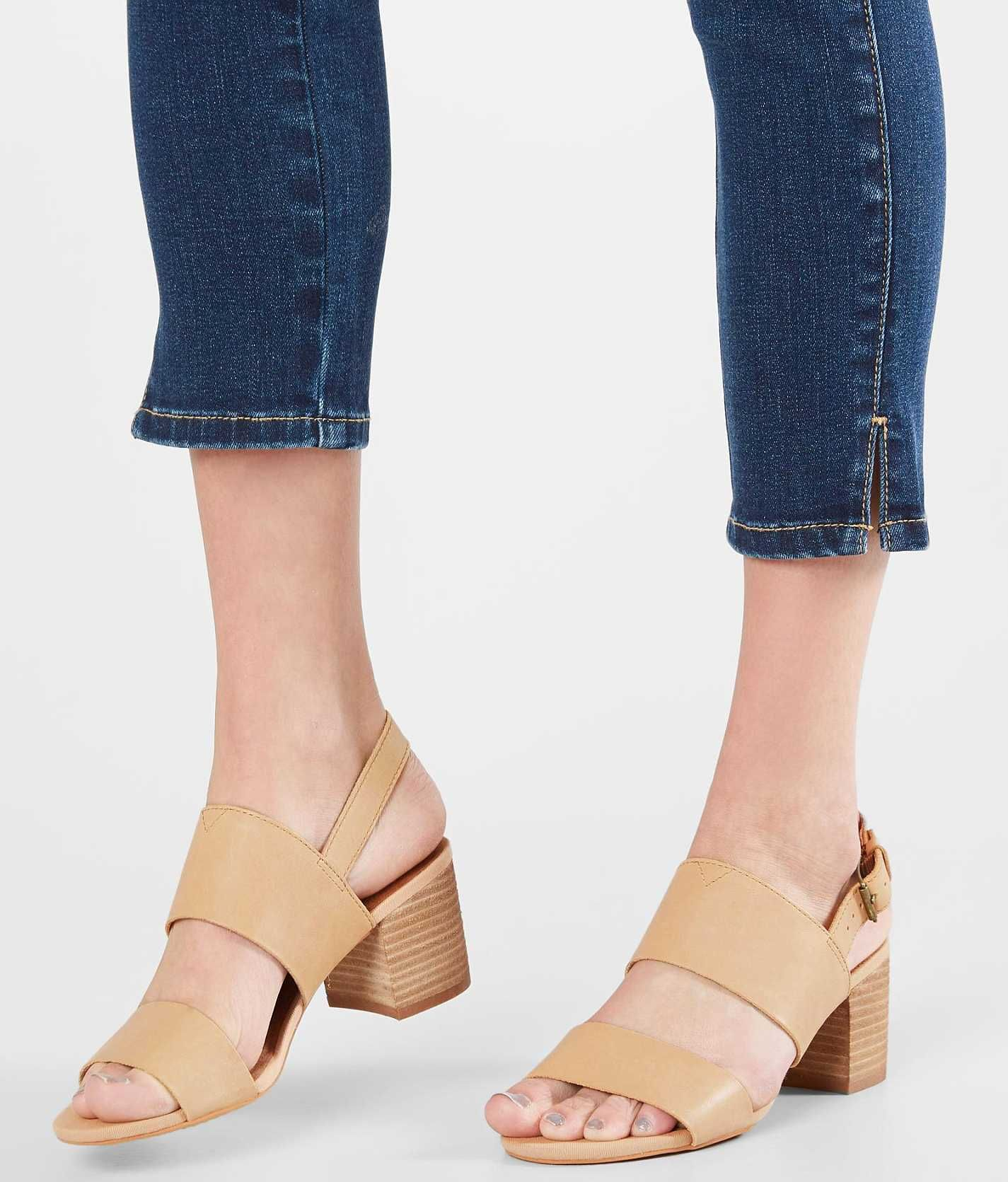 14f81201e7a TOMS Poppy Heeled Sandal - Women s Shoes in Honey Leather