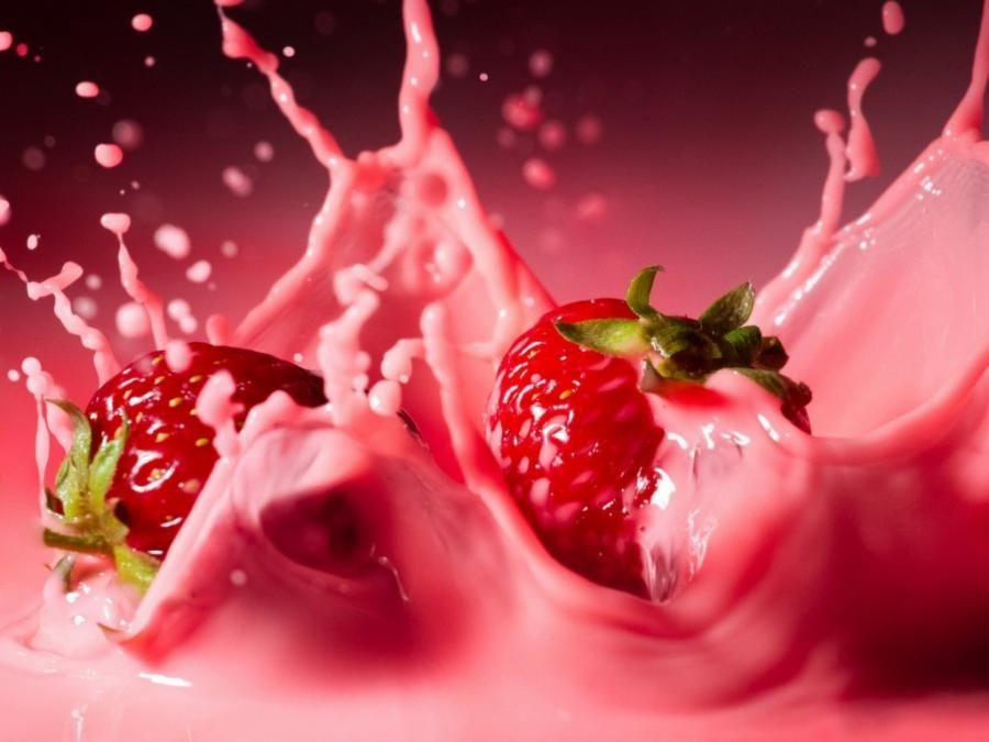 Cream-of-strawberries - Pixdaus