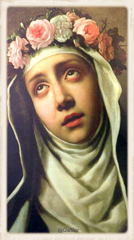 """Santa Rosa de Lima (1586-1617) """"Rosa de Lima, la más bella ..."""