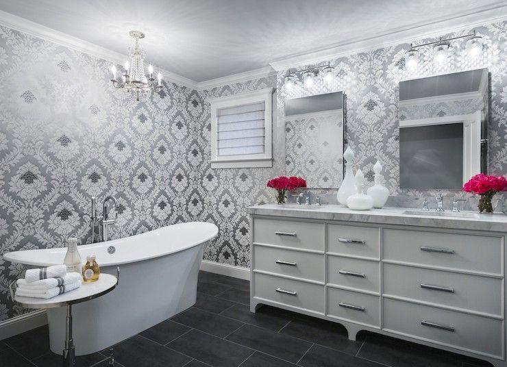 Wallpaper Over Bathroom Tiles on wallpaper over countertops, wallpaper over plywood bathroom, wallpaper over fireplace, wallpaper over kitchen cabinets,