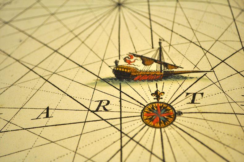 """""""Art"""" alter Atlas. Wie eine Flaschenpost die Welt verbindet - treibholzeffekt"""