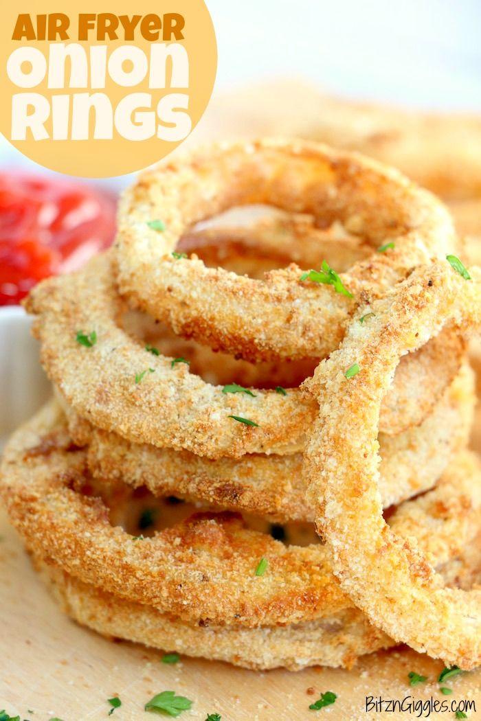 Air Fryer Onion Rings Recipe Onion rings, Fresh onions