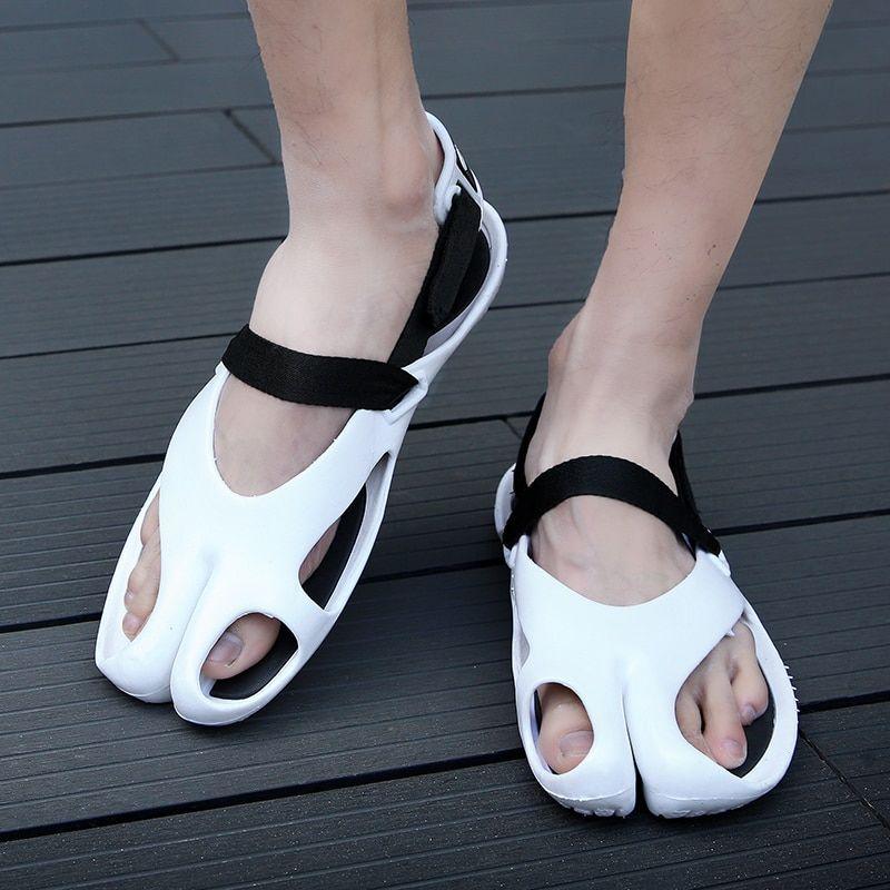 841ada99dc1e DUDELI New casual summer men sandals patchwork fashion men shoes slippers  leisure flip flops men s flats