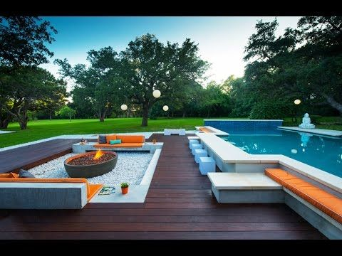 Pool Seating Area Ideas With Cushions