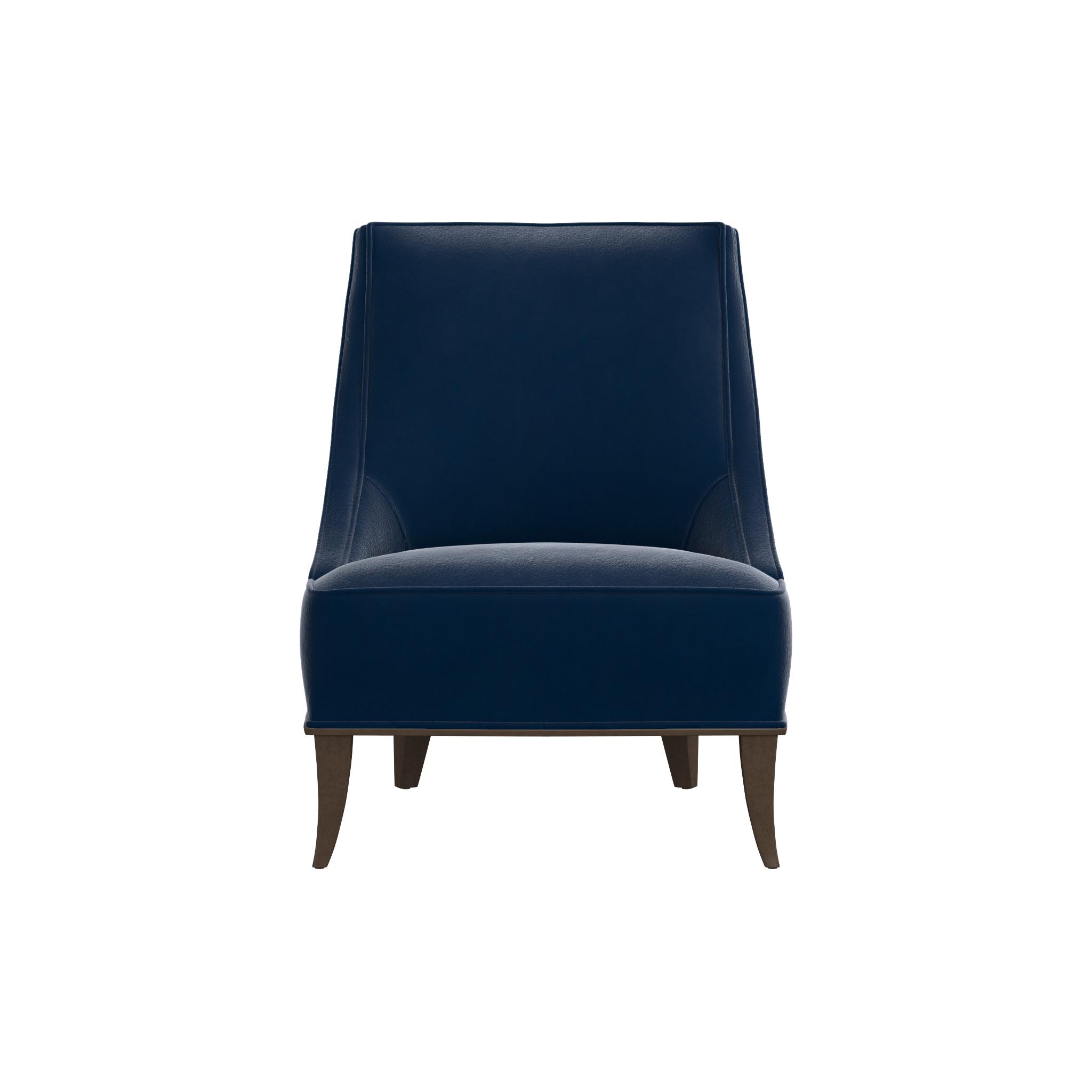 west media australia slipper elm chair curved modern leather