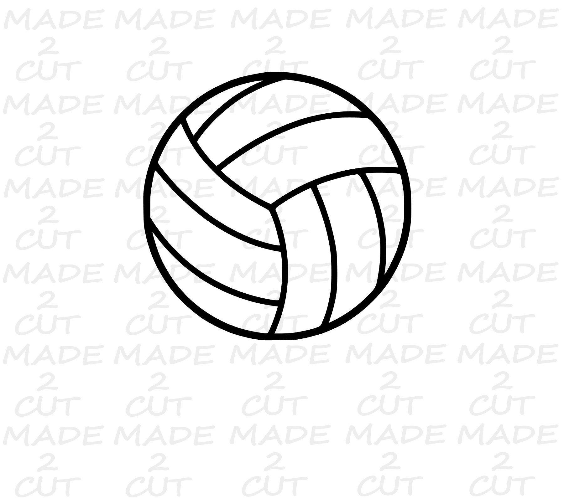 Volleyball Svg Volleyball Design Sport Svg Vball Design Etsy In 2020 Volleyball Designs Sports Svg Svg