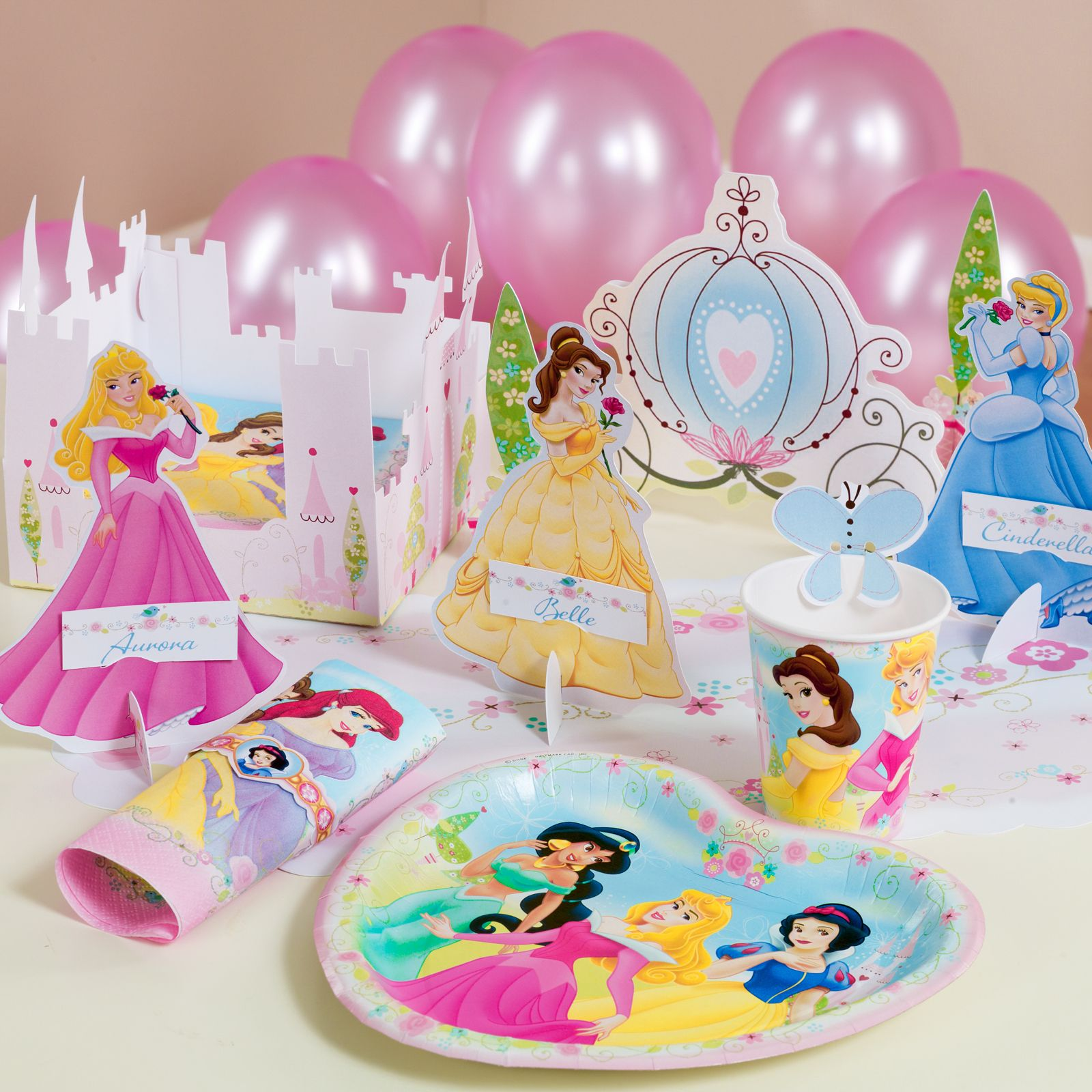 Birthday Decoration At Home For Kids: Disney Princess Decor Book