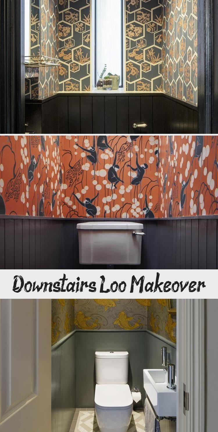 Downstairs Loo Makeover #downstairsloo Koi Carp wallpaper adds a wow factor and drama to a tiny downstairs loo powder room by Brian O'Tuama Architects #bathroomwallpaperSimple #bathroomwallpaperBotanical #bathroomwallpaper2019 #bathroomwallpaperLeaves #bathroomwallpaperBrown #downstairsloo Downstairs Loo Makeover #downstairsloo Koi Carp wallpaper adds a wow factor and drama to a tiny downstairs loo powder room by Brian O'Tuama Architects #bathroomwallpaperSimple #bathroomwallpaperBotanical #bath #downstairsloo
