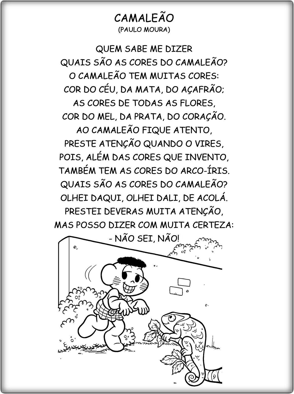 Pin De Mary Martins Em Leitura Poema Parlenda Cantiga Texto