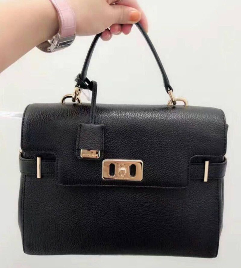 c8c8f7acb310 Michael kors Karson Medium TOP HANDLE SATCHEL HANDBAG BAG TINA NWT Hermes # MichaelKors #Satchel