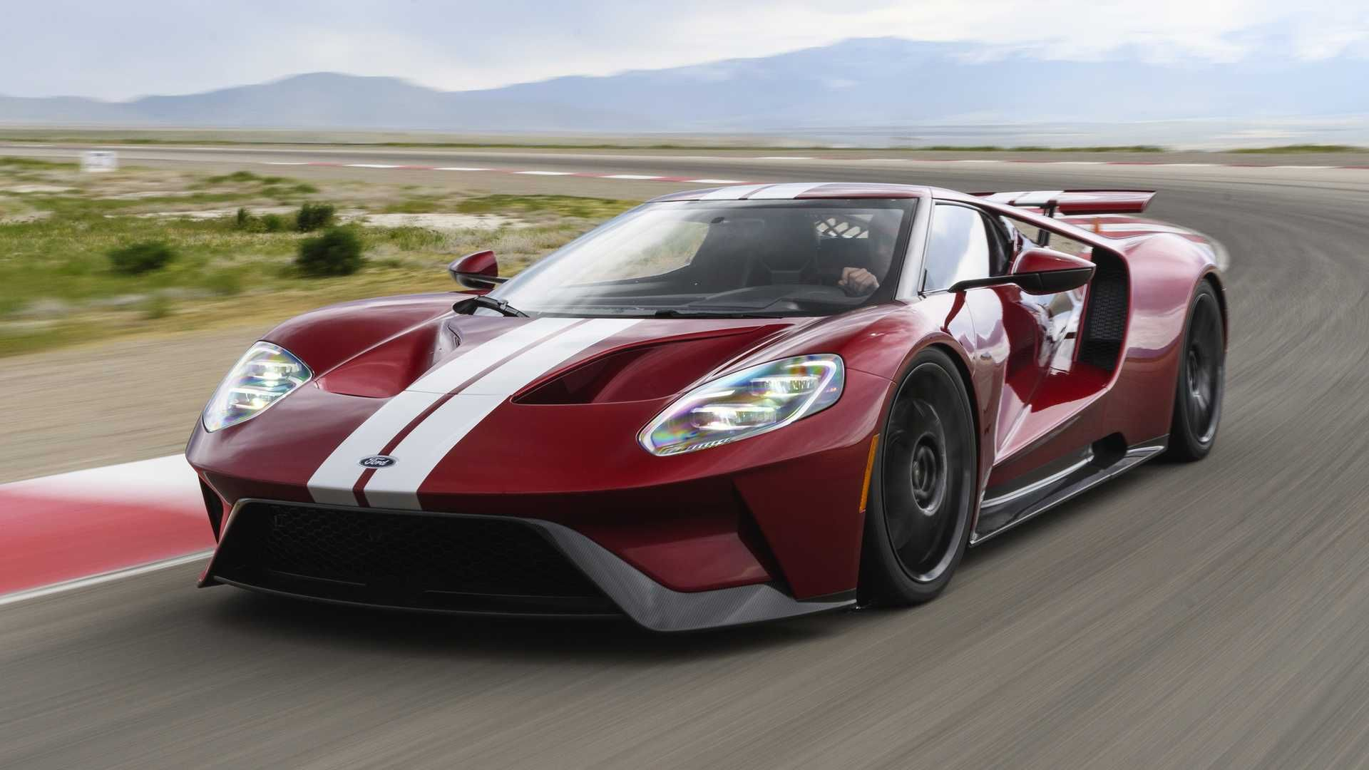 We Experience Pure Driving Nirvana In The  Mph Ford Gt Supercar On Road And Track In Utah