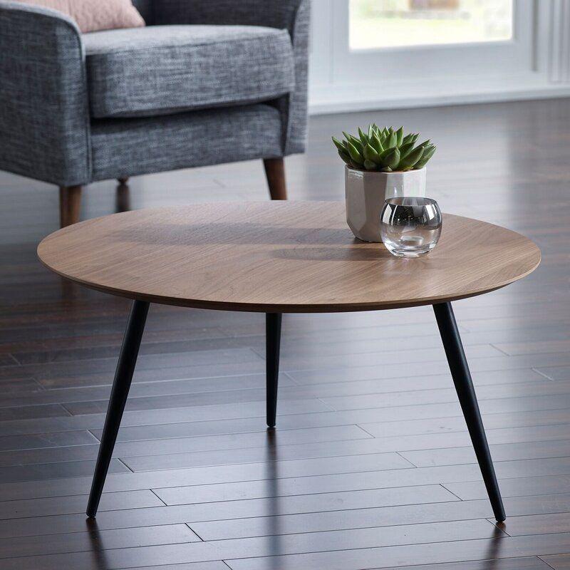Aponte coffee table round coffee table modern white