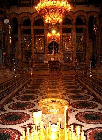 The Church of the Holy Sepulchre, Jerusalem, Israel