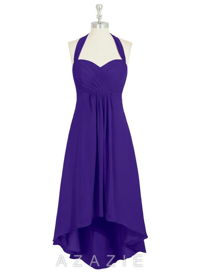 Purple high low bridesmaid dress. | Mickey | Pinterest | High low ...