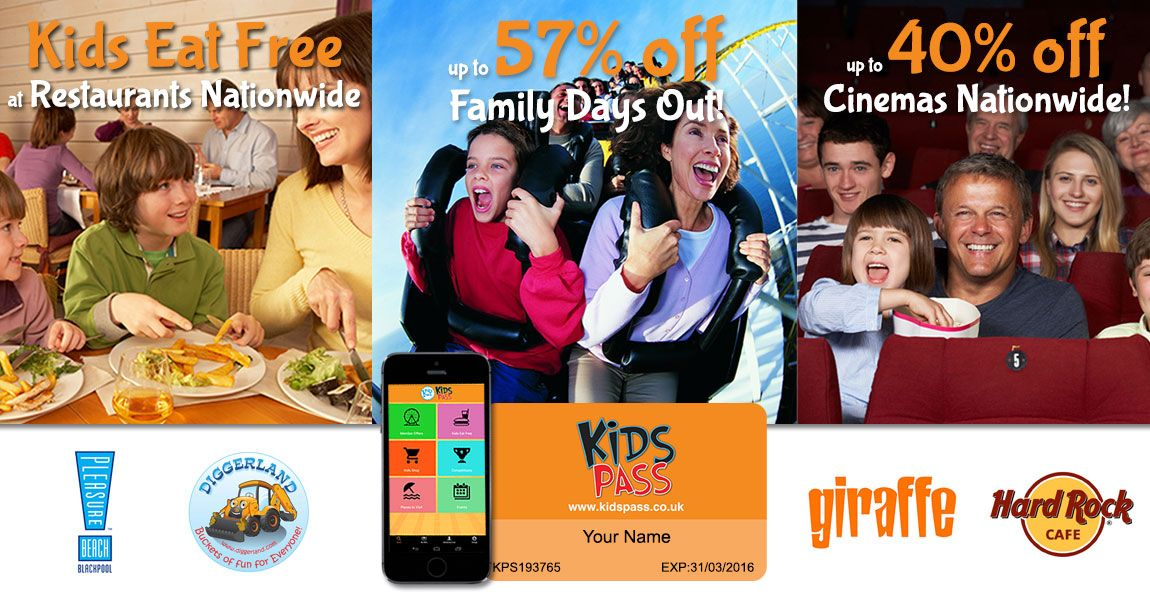 Kids Days Out Discounts Deals Offers Days Out With Kids Family Day Kids Eat Free