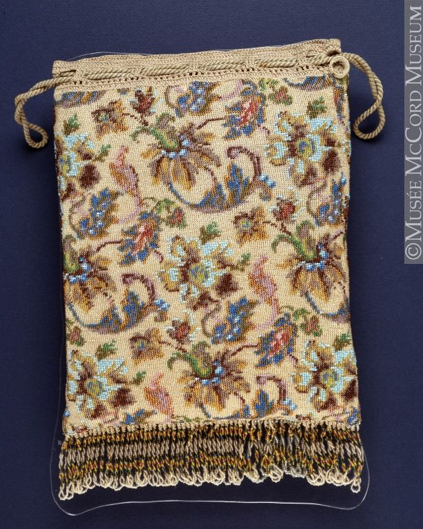 Evening purse  1825-1875, 19th century