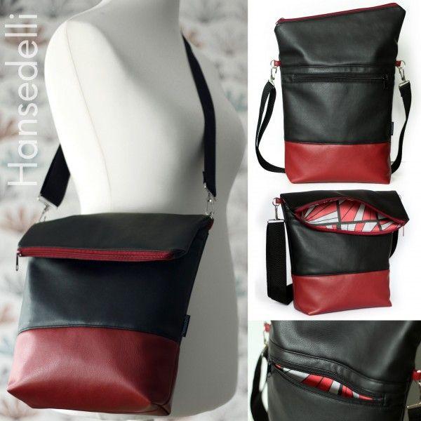 Ebook - FoldOver Add-On Außenfach | Bag design ideas | Pinterest | Pdf