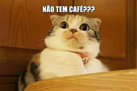 Não tem café?  @cafepublicitario