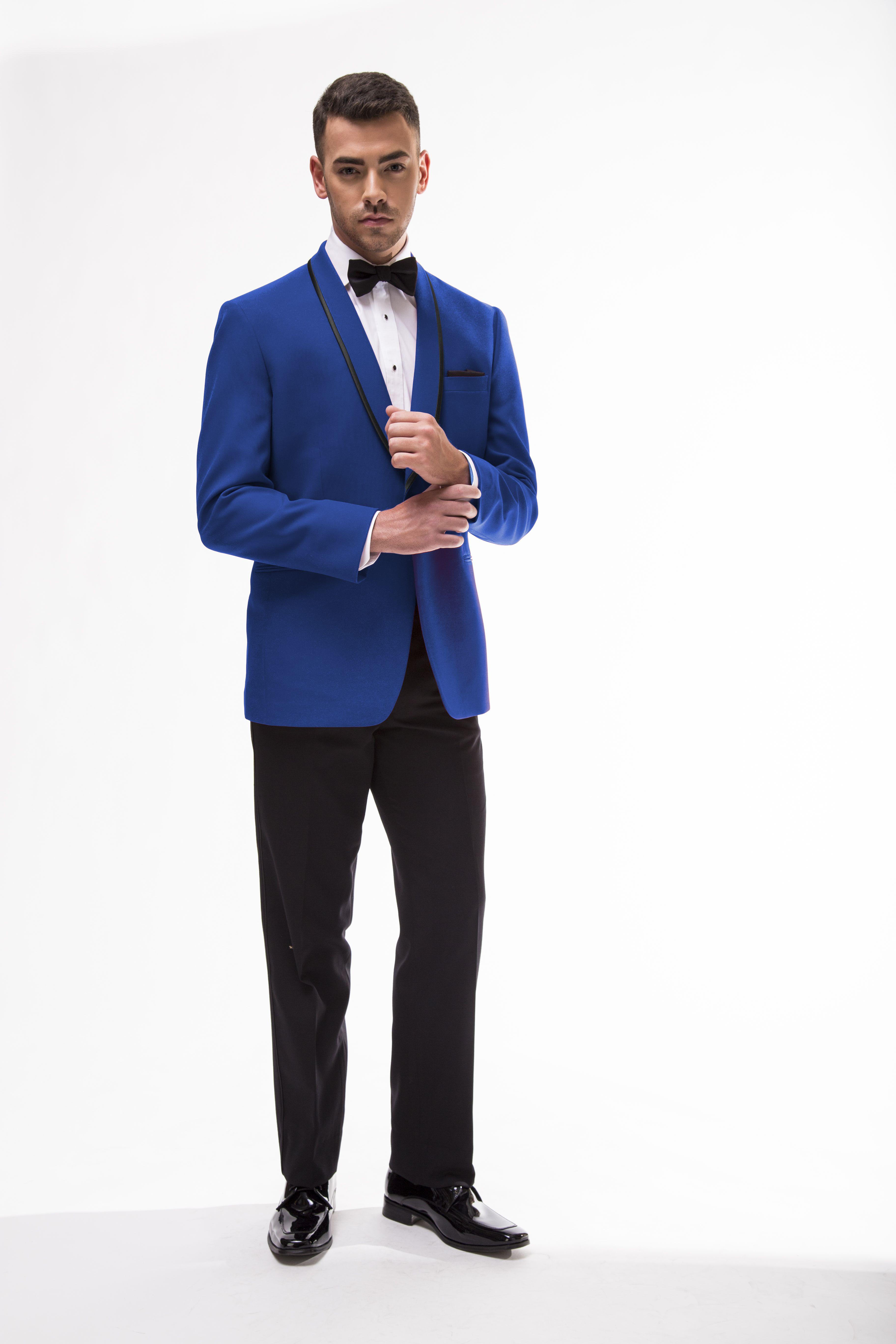 Royal Blue Connor Tuxedo