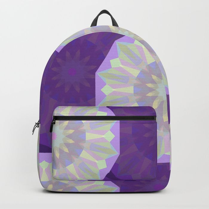 24fa8b7f30 Buy Round Iridescent Geometric Background Backpack by annartshock.  Worldwide shipping available at Society6.com. Just one of millions of high  quality ...