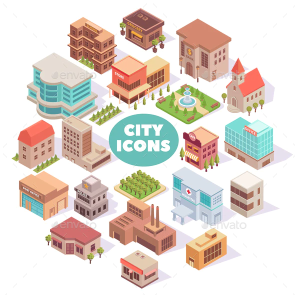 Building Free Vector Icons Designed By Freepik Vector Icon Design Vector Icons Icon Design