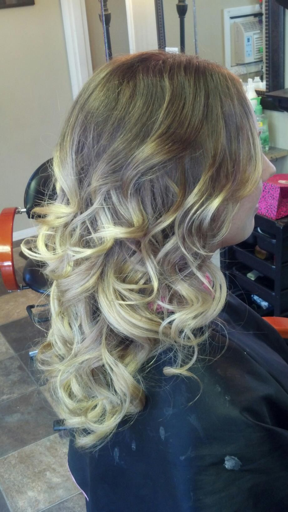 Hair by Carla Carnes owner of Crave Color Salon Hair