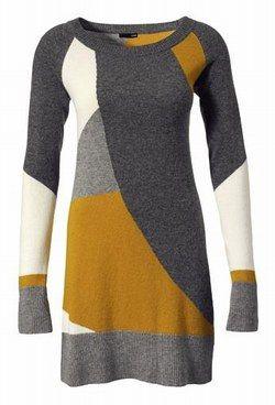 Kleid mit geometrischen Formen von H&M - Modetrends ...