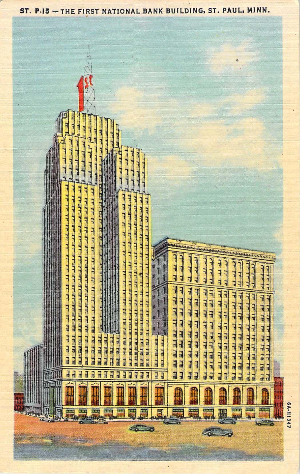 First National Bank Building St Paul Mn St Paul Minnesota Banks Building Art Deco Architecture