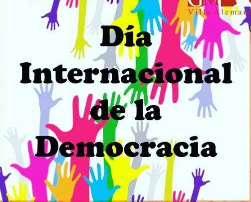 Dia Internacional De La Democracia Calm Artwork Keep Calm Artwork Lema