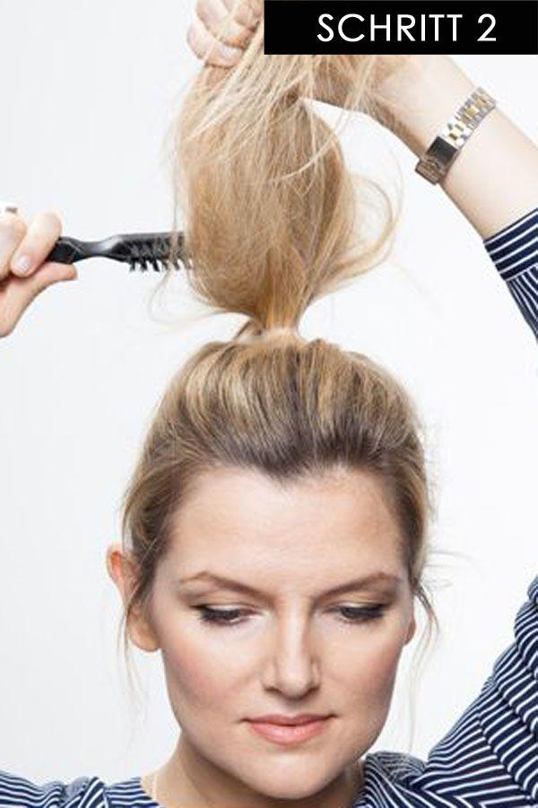 Photo of Peinado de tendencia en 15 segundos: ¡este patrón de Messy Bun es súper simple y elegante!