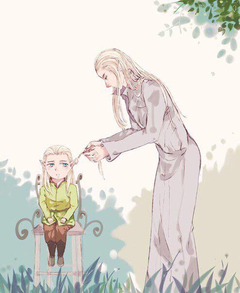 Thranduil and Legolas... ❤