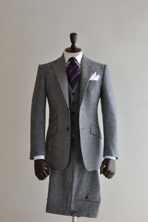 Grey Tweed 3-piece Suit (own)