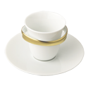 Bernardaud's signature style - elegant but fun! This lovely gadget is now on my wish list :)