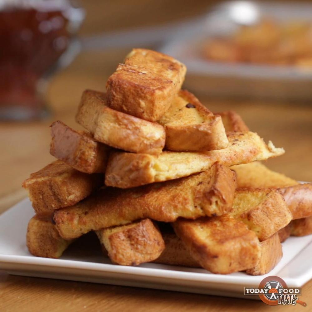 Photo of Freezer-Prep French Toast Sticks Recipe by Tasty