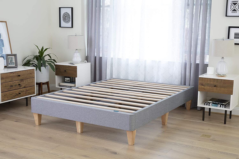 Leesa King Platform Bed Mattress Foundation Petagadget In 2020 Platform Bed Mattress King Platform Bed Platform Bed