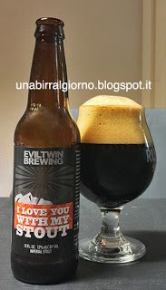 Cibo: #Evil #Twin I #Love You With My Stout (link: http://ift.tt/2cQ41qw )