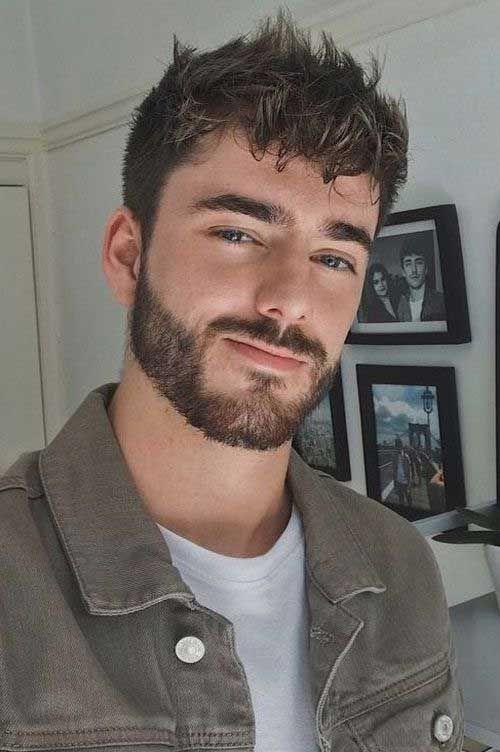 Auffallender Bart und Frisuren für Männer, Bart und Frisuren für Männer-11 #erkeksaçmodelleri