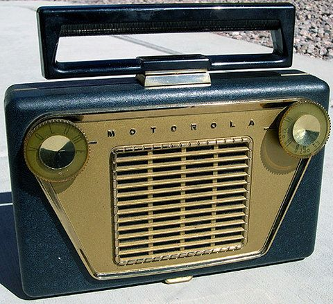 Motorola Portable Tube Radio, 1950's on Flickr - Photo Sharing!